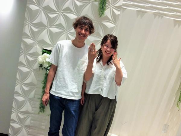 加古川市「Mariage ent」の結婚指輪をご成約頂きました。