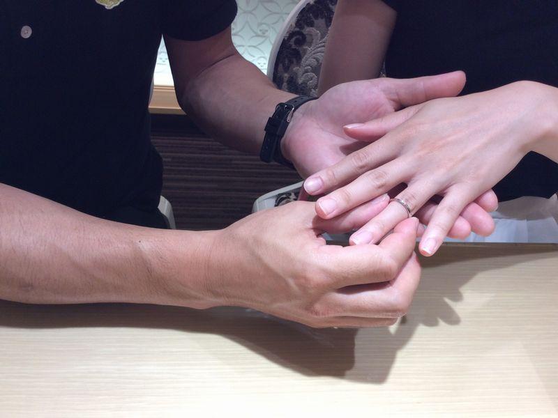 バウム結婚指輪ハナミズキ