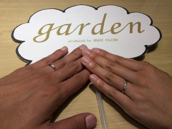 メール結婚指輪Mariage ent