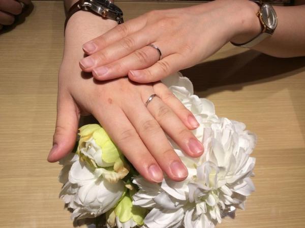 加東市&姫路市「RosettE」の結婚指輪をご成約頂きました。