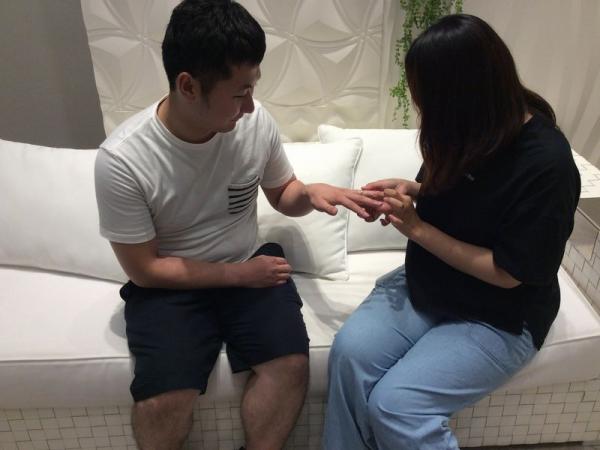 姫路市「MILK&Strawberry」の結婚指輪をご成約頂きました。