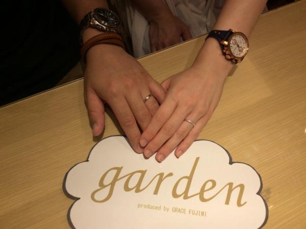 ロゼットとエトルの結婚指輪