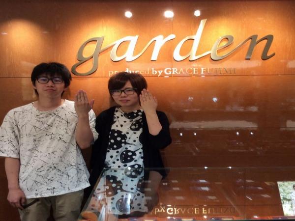 加古川市「LAPAGE」の結婚指輪をご成約頂きました。