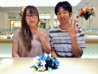 パッサージュとエトル結婚指輪