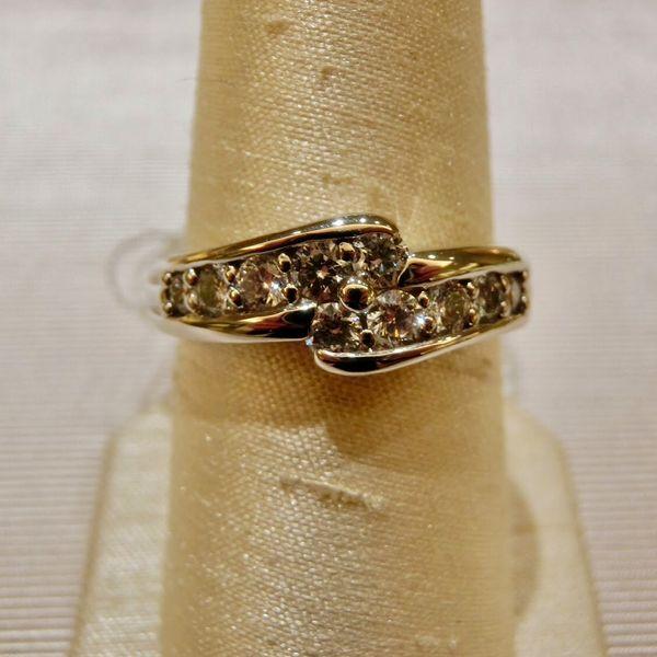 結婚10周年記念に贈るプラチナのダイヤリング garden姫路