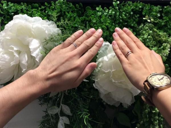 姫路市『アムールアミュレット婚約指輪』ご成約