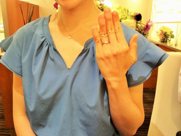 加古川市「ラパージュ」の婚約指輪をご成約