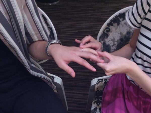 シンプルな結婚指輪ヴィヴァージュ