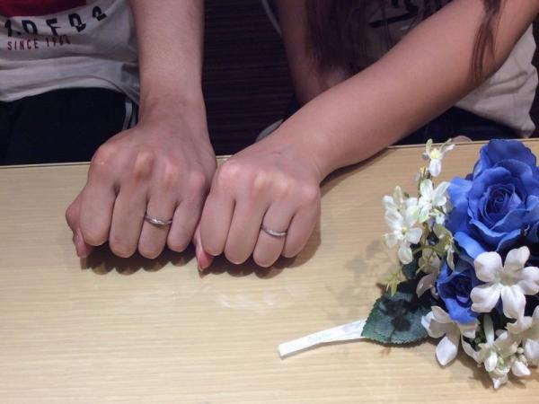 たつの市『エトルとクワントマリアージュ』の結婚指輪をご成約