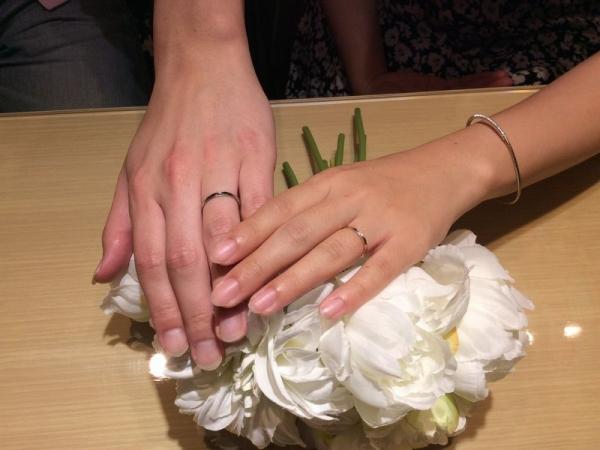 マリアージュエント結婚指輪メール
