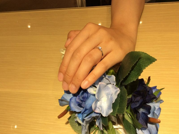 Mariage ent結婚指輪メール