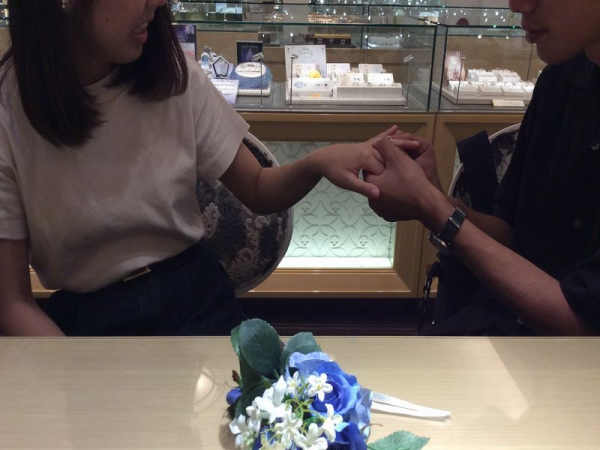 Mariage ent結婚指輪
