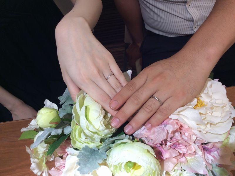 Milk&Strawberry結婚指輪