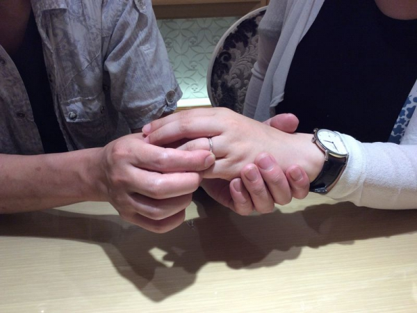 BAUM結婚指輪