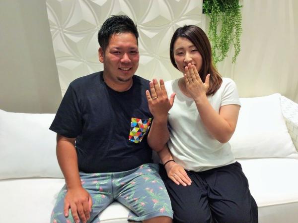 神崎郡福崎町【アムールアミュレット】結婚指輪をご成約頂きました。