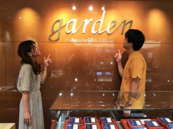神戸市【シェールラヴ】婚約指輪【フィッシャー】結婚指輪をご成約頂きました