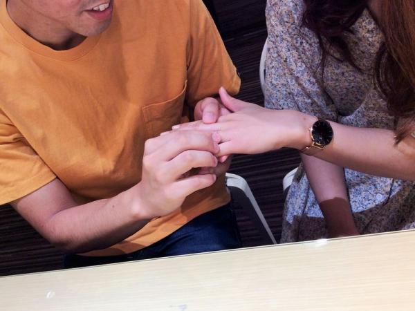 シェールラヴ結婚指輪