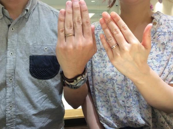 姫路市【ひな】の結婚指輪をご成約頂きました。