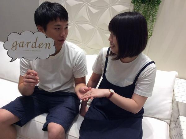gardenオリジナル婚約指輪FISCHER結婚指輪