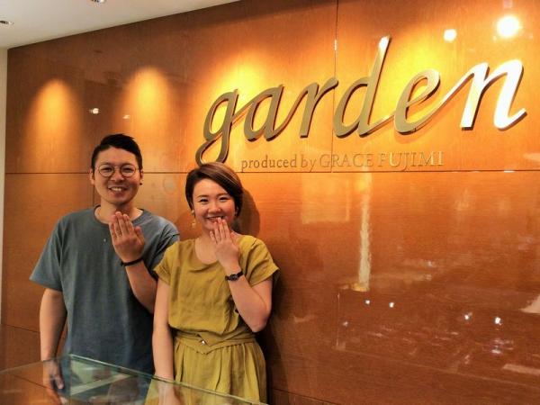 姫路市【CHER LUV】結婚指輪をご成約頂きました。