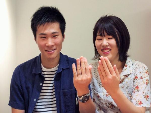 ビバ―ジュ結婚指輪リアン
