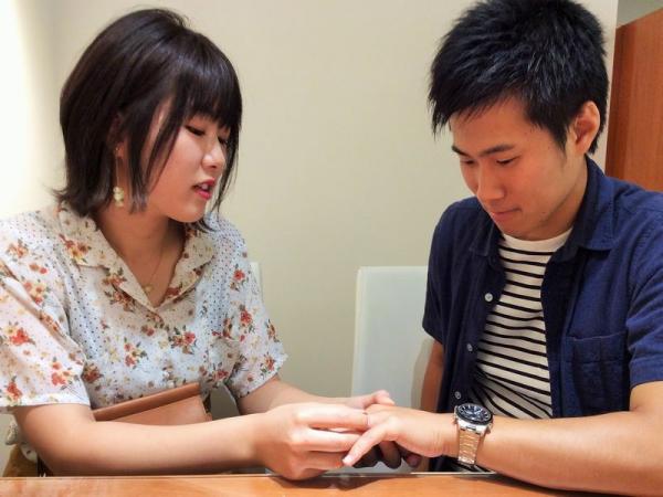 姫路市『VIVAGE』の結婚指輪をご成約いただきました。