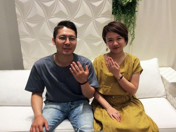 CHER LUV結婚指輪リリー