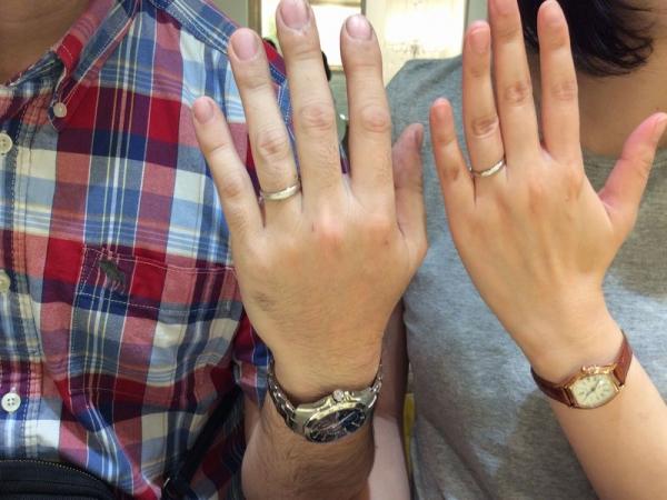 高砂市【Pilot Bridal】の結婚指輪をご成約いただきました。