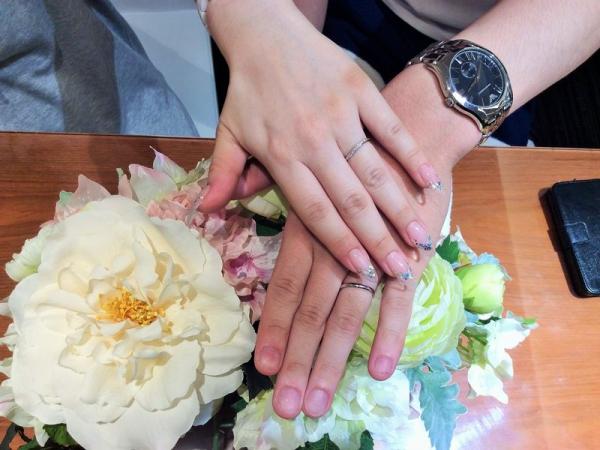 揖保郡太子町『Passage・et.lu』結婚指輪をご成約いただきました。