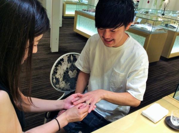 アンティーク調結婚指輪CHER LUV
