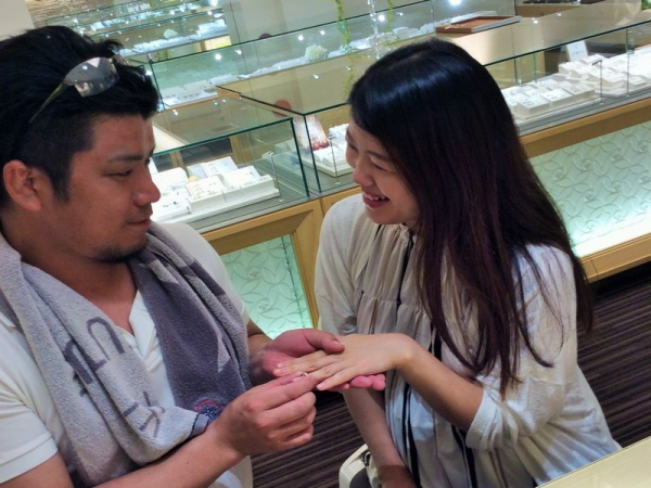 IROノHA結婚指輪