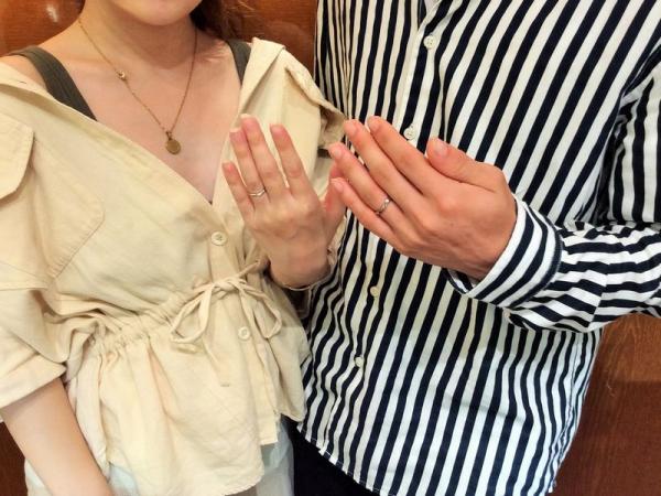 姫路市『Mariage ent』の結婚指輪をご成約いただきました。