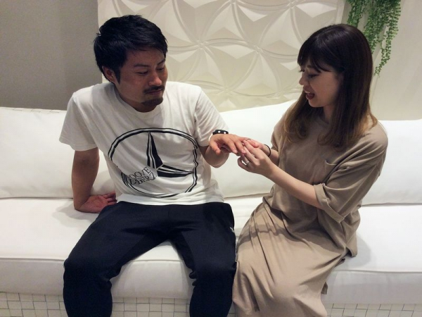 クワンドゥマリアージュ結婚指輪オソレイユ