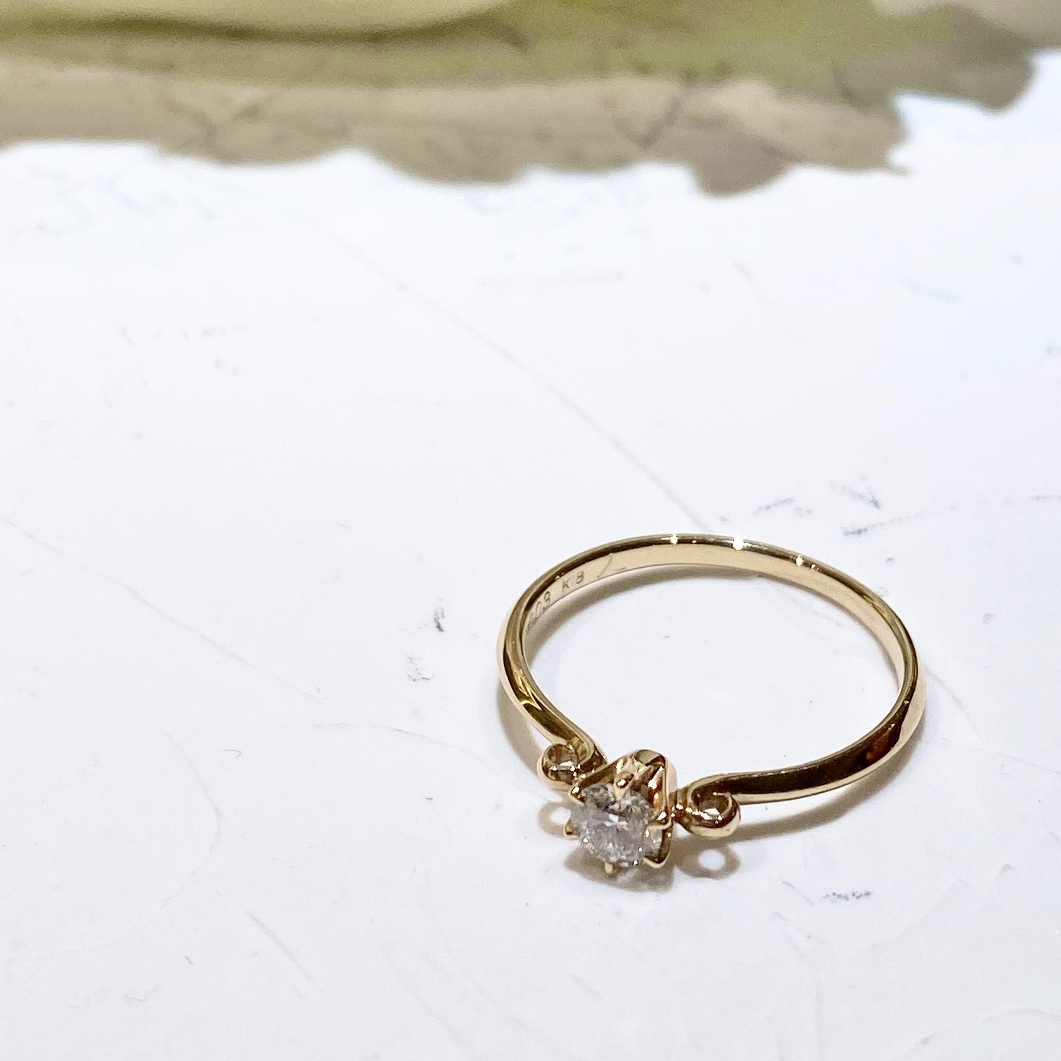 姫路市インスタで人気のLAPAGEの婚約指輪