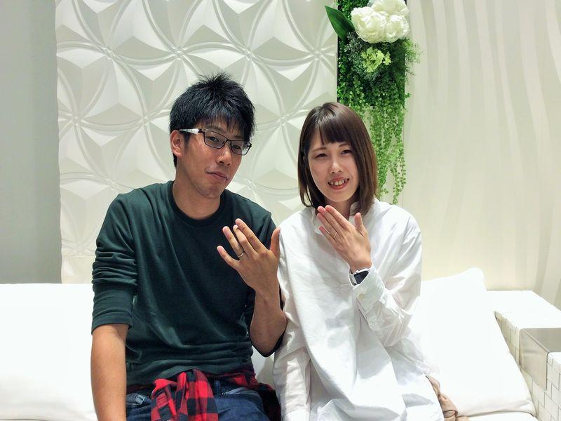 オクターヴ結婚指輪