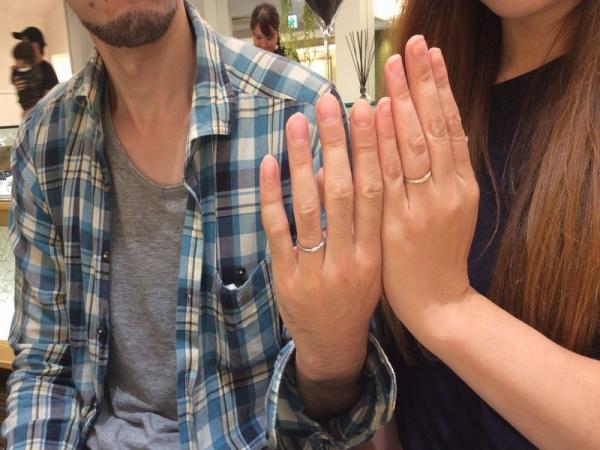加古川市『ミルク&ストロベリー』結婚指輪をご成約いただきました。