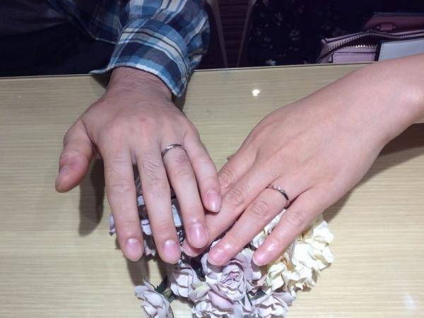 アムールアミュレット結婚指輪シュシュ