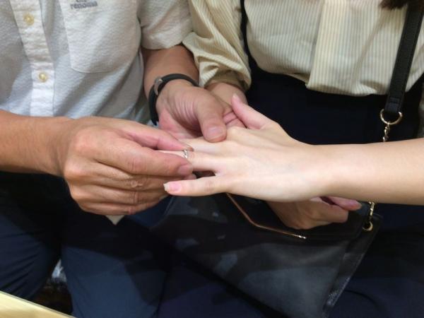 ラパージュ結婚指輪セイシェルの風
