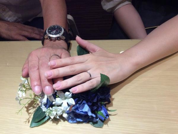 パッサージュとラパージュの結婚指輪