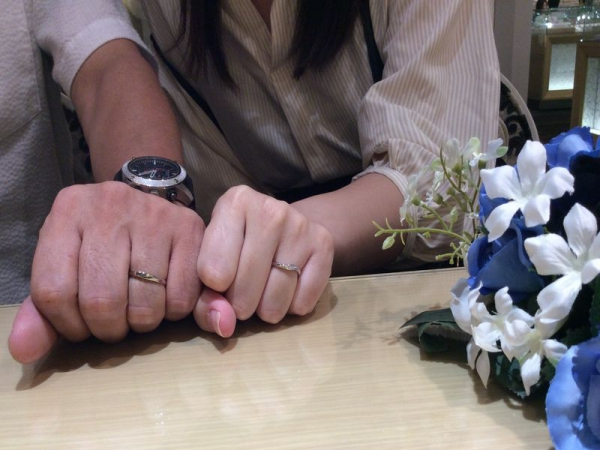 PassageとLAPAGEの結婚指輪
