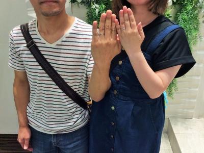赤穂市『SO』の結婚指輪をご成約いただきました。