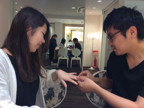 garden姫路の婚約指輪