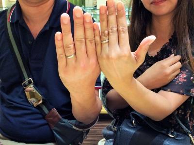 姫路市『Sarasa・Preuve』の結婚指輪をご成約いただきました。