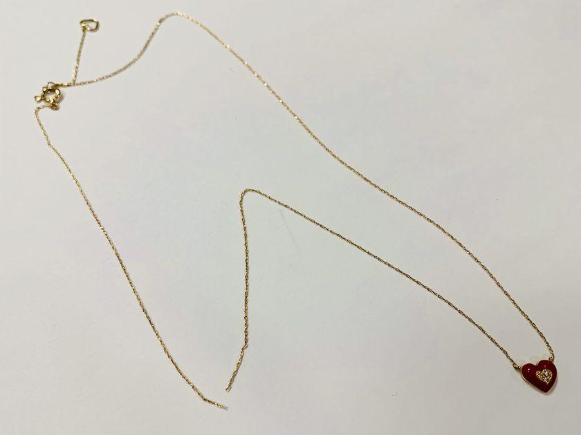 ネックレスのチェーン切れ修理