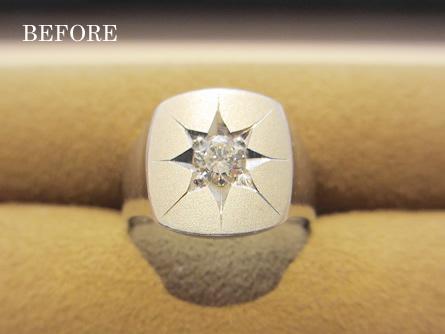 婚約者のお母様の大切な指輪をリフォーム