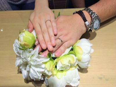姫路市『アムールアミュレット』結婚指輪をご成約