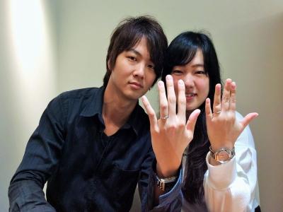 小野市『ロゼット』結婚指輪をご成約いただきました。