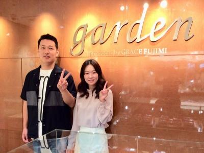姫路市『Pilot Bridal』結婚指輪をご成約いただきました。