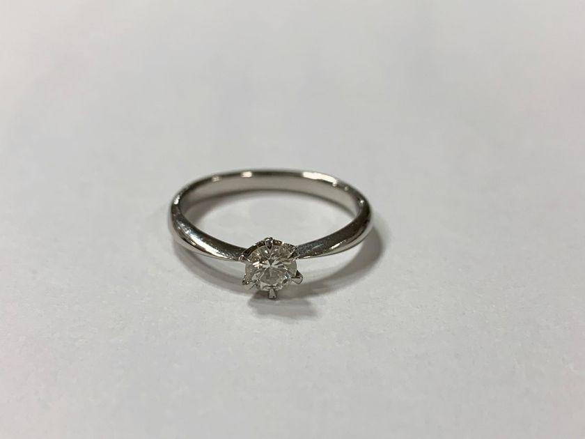 譲り受けた婚約指輪をサイズ直し