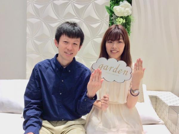 神崎郡福崎町『ミルク&ストロベリー』結婚指輪